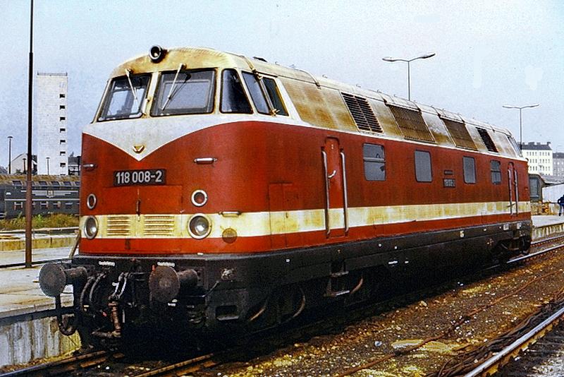 118 008 Bw Ostbahnhof