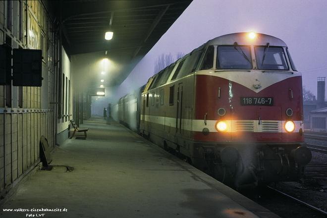 118 746 Bw leipzig Hbf Süd
