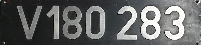 Lokschild V180 283