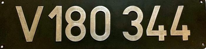Lokschild V180 344