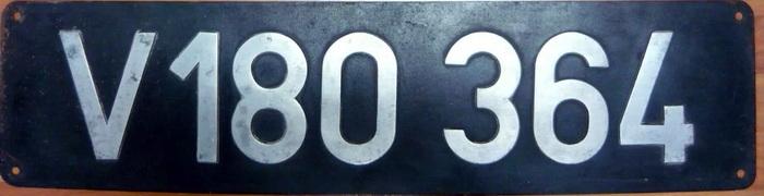 Lokschild V180364