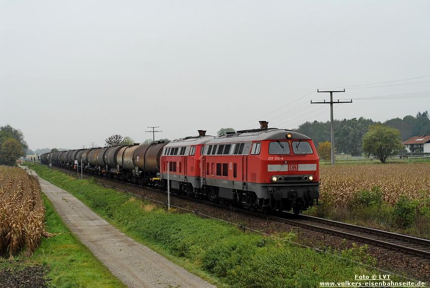DB 217 012 & 217 021